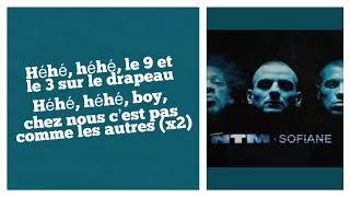 93 Empire   Sur Le Drapeau (Suprême NTM X Sofiane) (Paroles) | Sarah Lyrics