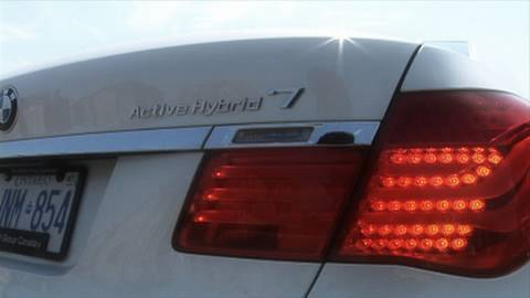Car Review:  BMW Active Hybrid 7
