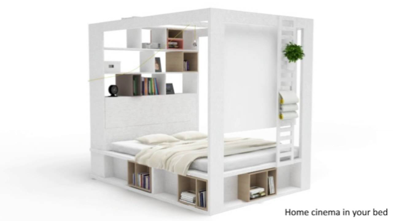 4post Bed Vox 4you 4 Poster King Bed With Storage Shelves In White Vox