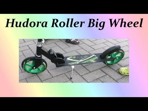 Hudora Roller Big Wheel 205 Testbericht