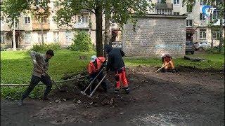 53 новгородских двора планируют благоустроить до 1 октября