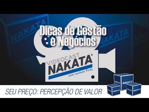 Vídeocast Nakata 07 - Seu preço: Sobre percepção de valor