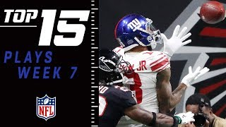 Top 15 Plays of Week 7 | NFL 2018 Highlights