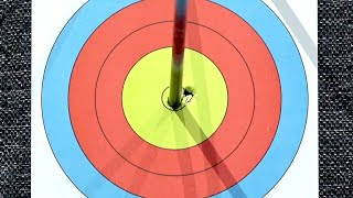 Mike Schloesser's perfect 150 at the 2020 Indoor Archery World Series Finals