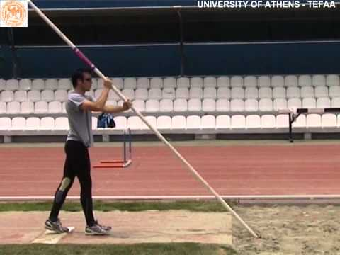 POLE VAULT (sand pit) TAKE OFF DRILL 1