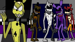 A Twisted Nightmare 28   Final Battle Part 1 (Five Nights At Freddy's Animation)
