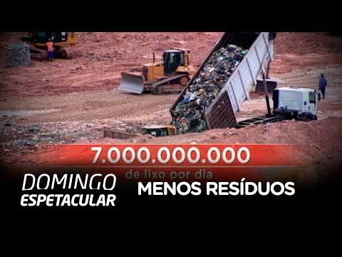 Campanha incentiva brasileiros a produzirem menos lixo