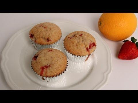 Strawberry Orange Muffins Recipe – Laura Vitale – Laura in the Kitchen Episode 375