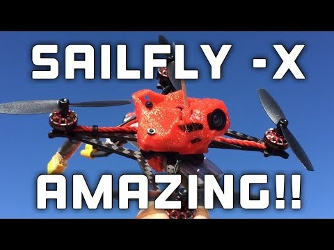 It\'s Too Fast!!! Test Flight -- Happymodel Sailfly-X