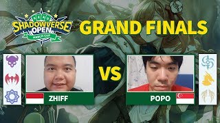 Zhiff vs Popo - Grand Finals SEAO Shadowverse Open March Cup 2019