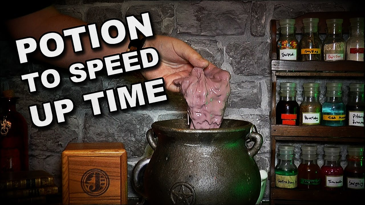 How To Make A Potion To Speed Up Time