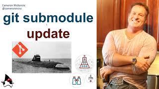 git submodule update example