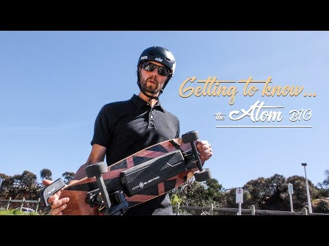 ELECTRIC SKATEBOARD REVIEW – Getting to Know The Atom B10 Electric Skateboard