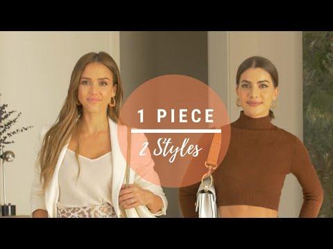 1 PIECE, 2 STYLES with JESSICA ALBA