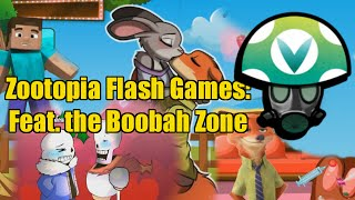 Zootopia Flash Games: Feat. The Boobah Zone - Rev [Vinesauce]