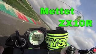 ➊ Mettet fastest lap 1.11.93 onboard Kawasaki ZX10R motorsportschool 2017