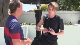 CINEMA-Reporter Scott Orlin talks to Jamie Campbell Bower