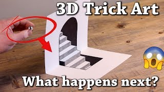 Easy 3D Drawing Illusions To Test Your Brain! Episode 3