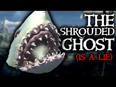 THE SHROUDED GHOST IS A LIE // SEA OF THIEVES - Rare Megalodon is not real.