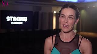 Raquel Sánchez Silva se mantiene en forma con Strong by Zumba
