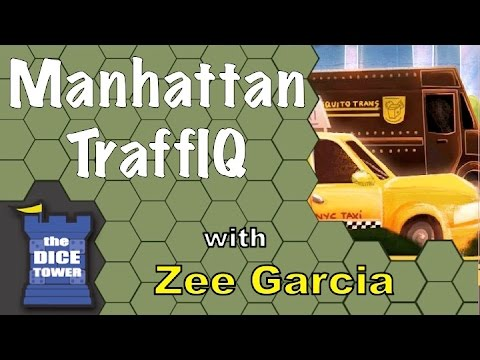 The Dice Tower reviews Manhattan TraffIQ