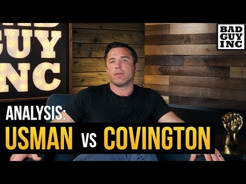 Colby Covington is the perfect opponent for Kamaru Usman...