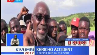 Kericho Accident : 9 killed in an accident at Kipsitet