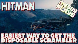 HITMAN - Japan - EASIEST way to get the SCRAMBLER - MESSYPLAYS