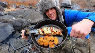 Catch N' Cook Cajun Fried PICKLES And Trout!
