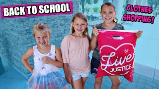 Back To School Clothes Shopping At Justice!