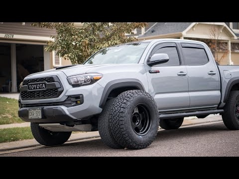 Tacoma TRD Pro Gets New Wheels SCS F5s