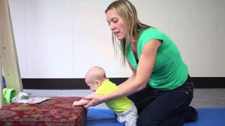 "Developmental Milestones ""Getting Into all Fours and Crawling at Around 8 to 9 Months"" 