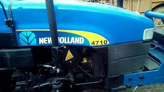 How to drive New holland 4710(step by step)