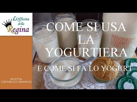Come si usa la yogurtiera  e come si fa lo yogurt