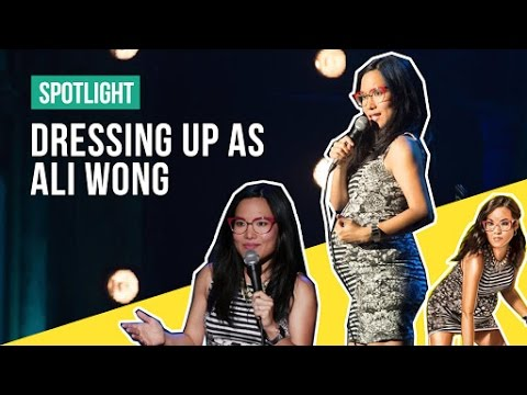 Be Ali Wong For Halloween!