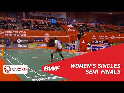 SF | WS | HAN Yue (CHN) [1] vs Line Højmark KJAERSFELDT (DEN) [4] | BWF 2019