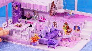DIY Miniatures Dollhouse ~ Belle (Beauty And The Beast) Room Decor ~ 미니어처 인형 집