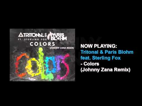 Tritonal & Paris Blohm - Colors (Johnny Zana Remix)
