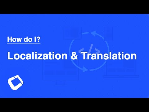 Localize/Translate My Application? Apply i18n/l10n (internationalization/localization) to my app?