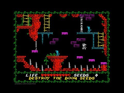 Nixy and the Seeds of Doom Walkthrough, ZX Spectrum