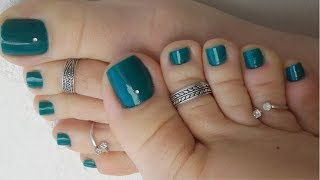 Foot Jewelry - Trendy Toe Ring Designs For Women