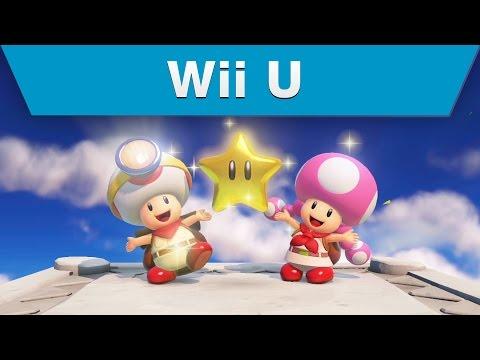 Wii U - Captain Toad: Treasure Tracker Trailer thumbnail