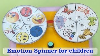 <h5>Video. Game Emotional Spinner</h5><p>Children Learn about Emotions in fun way. 	Expressing emotions using body language,</p>