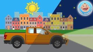 Логические задачки с Крошкой Антошкой - День и Ночь - Развивающее видео для детей