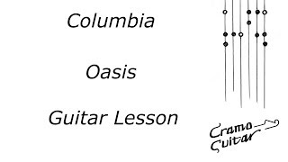 How To Play   Columbia By Oasis