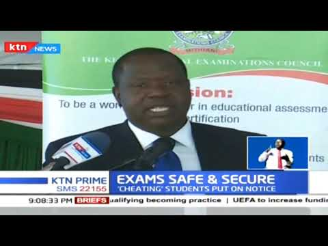 Education CS Amina Mohamed assures the country that national exams will be safe
