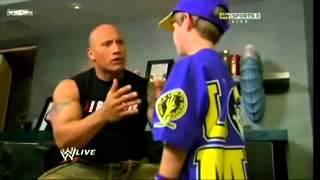 Rock VS Cena WWE -  CZ titulky / CZ subtitles