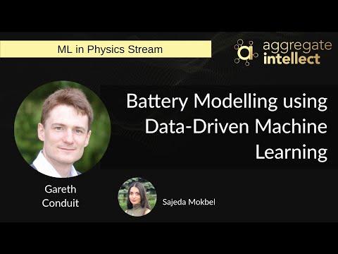 Battery Modelling using Data-Driven Machine Learning
