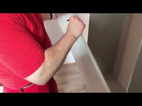 Schrank Schiebetüren Kleiderschrank aufbauen Rauch Schwebetürenschrank 2-türig Montage Anleitung