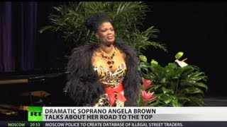 Dramatic soprano Angela Brown tells Prime Time about her road to top